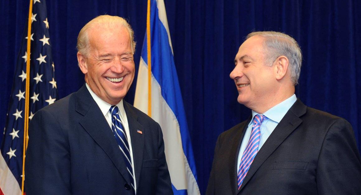Biden and Netanyahu